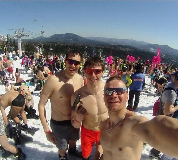 Skiing Fun, Siberian Style