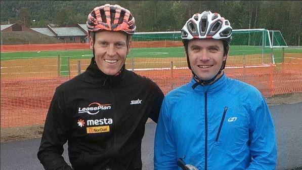 Training with Petter Eliassen