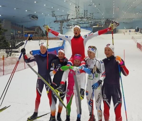 Johannes Høsflot Klæbo Does Dubai, Wins