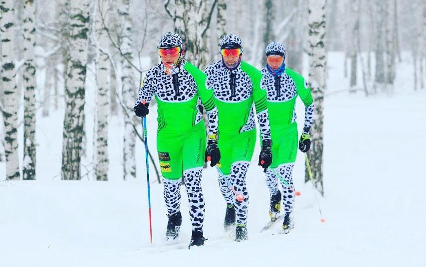 Tigers & Snow Leopards: It's Not Zoo, It's Skiers' Racing Suits!