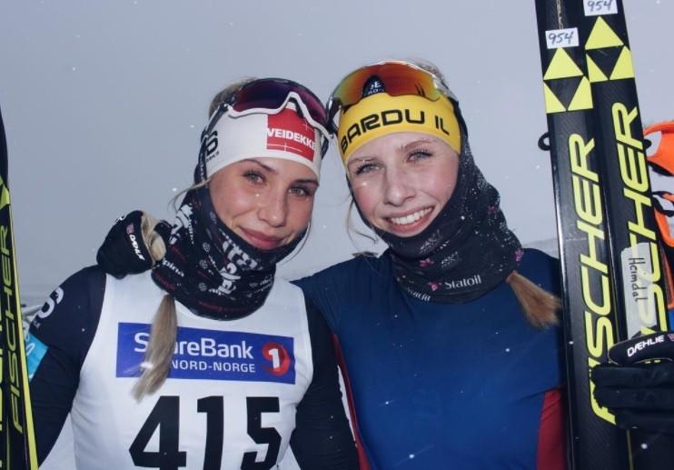 Skiing Siblings