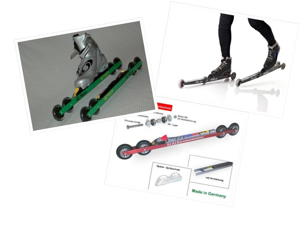 Rare Breed: Meet Four-Wheel Rollerskis