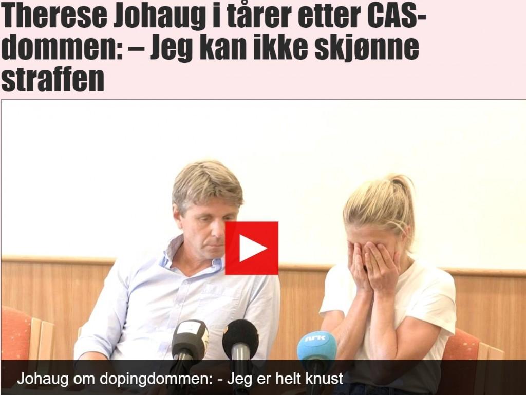 Johaug Verdict: Reactions