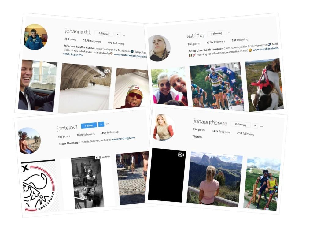 Norwegian Ski Stars Get Rebuke From Authorities For Their Social Media Accounts