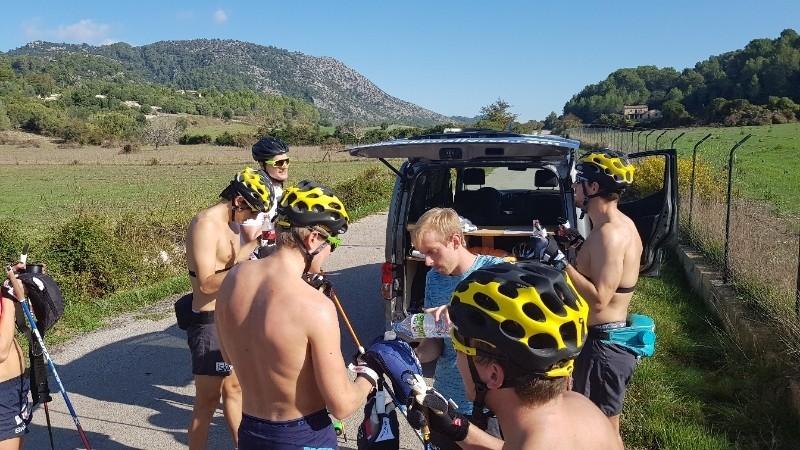 Rollerski Majorca With Team United Bakeries