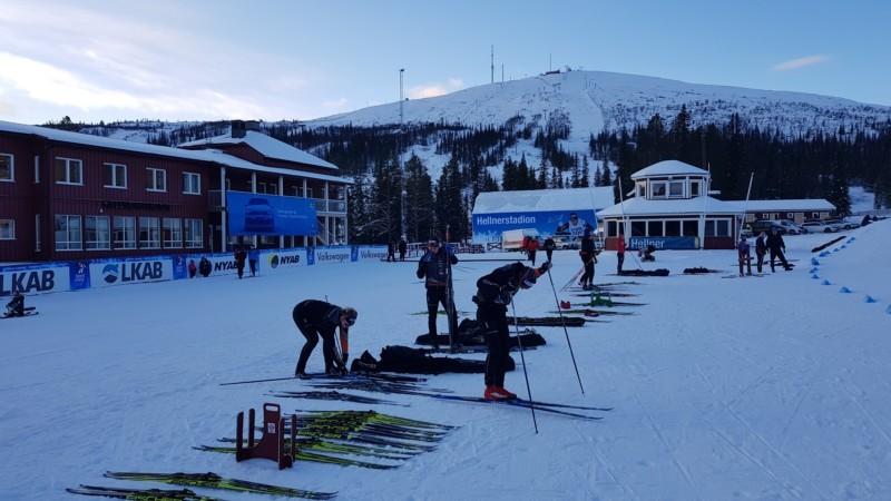 Some Of World's Best Skiers In Gällivare. Photoessay