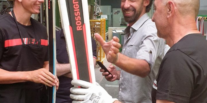 How Rossignol Skis Are Made At Racing Workshop