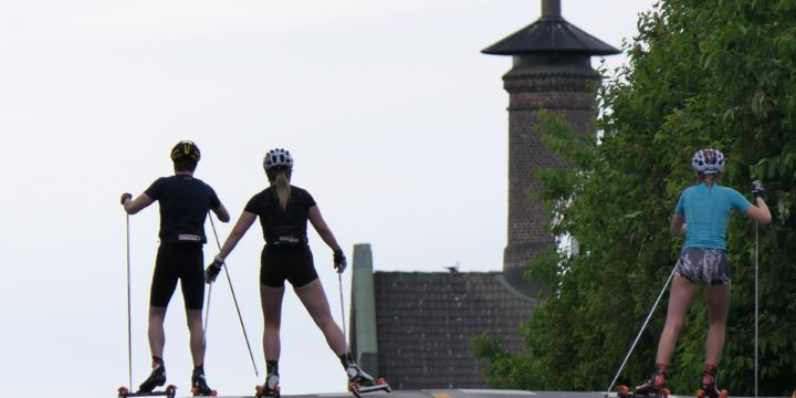 Norway Where You Rollerski On Streets