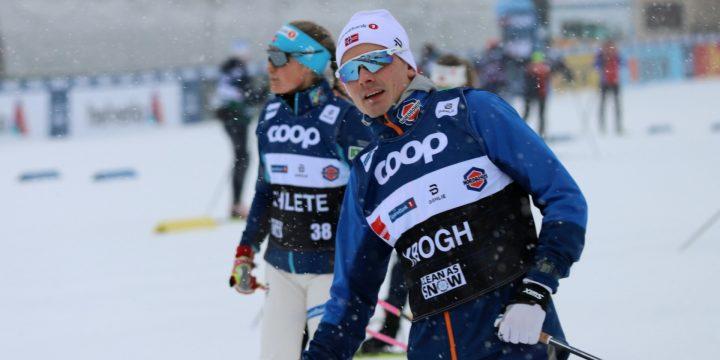 Finn Haagen Krogh Acts As Sprint Team Coach Today In Davos. Women's Sprint Team Coach!