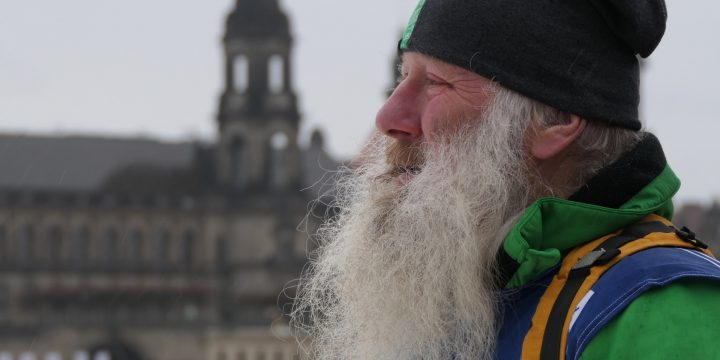 Welcome To Dresden Weltcup. It's Not Your Grandpa Skiing, It's Different!